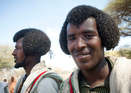 Karrayyuu Oromo men hair style