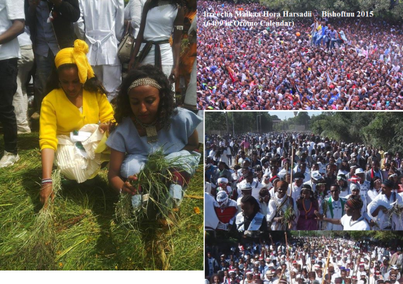 Oromia and the continuity its Nile Valley Civilization, Irreecha Malkaa 2015 ( 6409 years since started on upper Nile (Mormore) Valley)