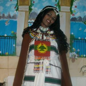 Oromo artsist Asaantii Hajii Tufaa