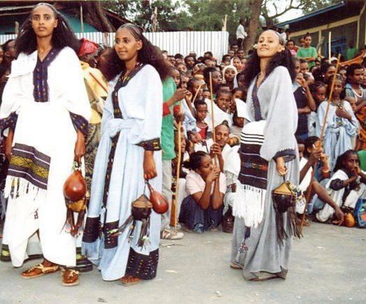 Oromo from Raayya at Irreecha Malakaa 2015, Hora Harsadi, Bishoftu October 4, 2015