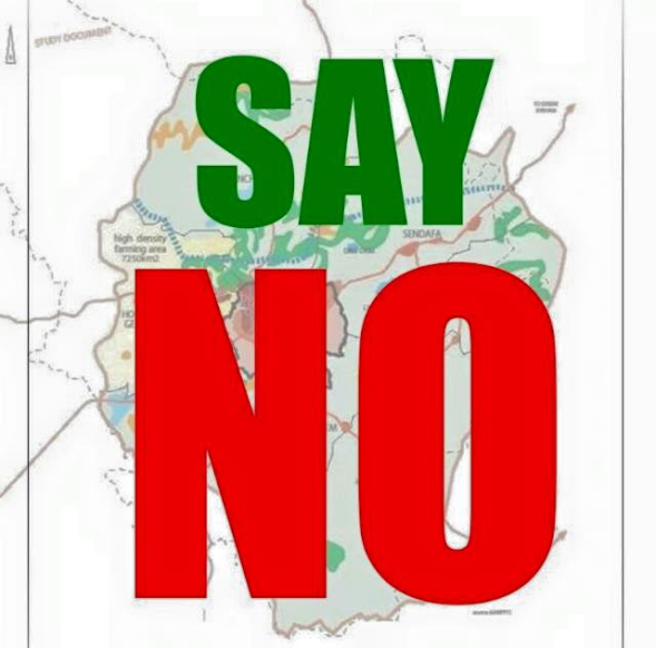 Say no to the master killer. Addis Ababa master plan is genocidal plan against Oromo people. Say no.