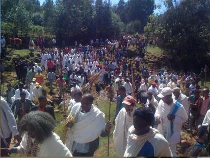 Irreecha Birraa Oromo @ Midaaqanyi ( Galma Calalaqii), Central Oromia 2, 15 November 2015