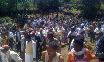 Irreecha Birraa Oromo @ Midaaqanyi ( Galma Calalaqii), Central Oromia 4, 15 November 2015