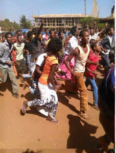 Oromo Students protest @ Mandii, Western Oromia 25th November 2015 picture1