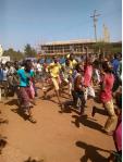 Oromo Students protest @ Mandii, Western Oromia 25th November2015
