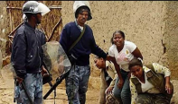 Agazi security forces beating Oromo women, children)
