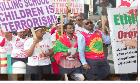 ‪#‎OromoProtests‬ Global Solidarity, Australia, 11 December 2015