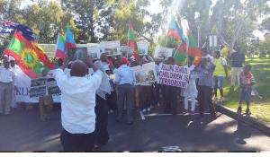 #OromoProtests Global Solidarity, Australia (Perth), 11 December 2015