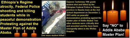 Ethiopia's regime atrocity against Oromo people