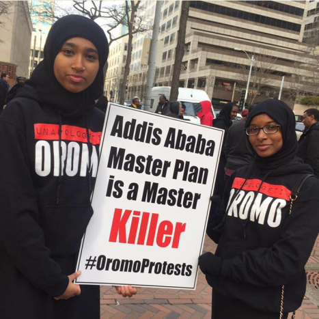 Global Solidalirty rally with #OromoProtests in Oromia@Seattle 29 December 2015