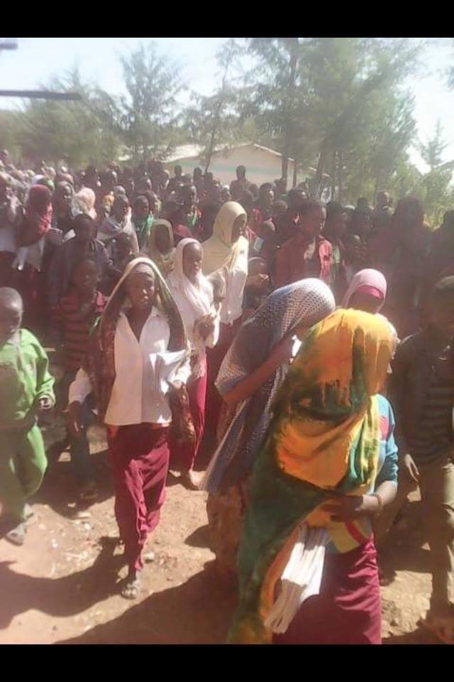 Oromo Protest against Master Plan in Meettaa, Gooroo Muxii town, East Hararghe, Oromia, December 4, 2015.png