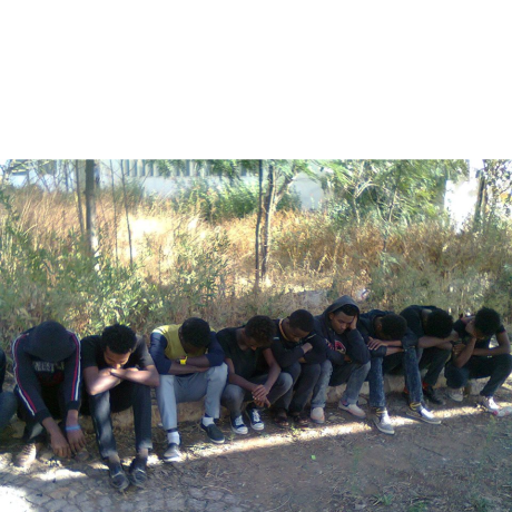 Oromo students Protest against the Master Plan at Maqalee University, silent sit ins