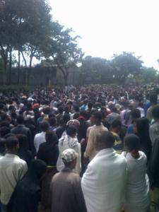 #OromoProtests @Ambo, 14 December 2015