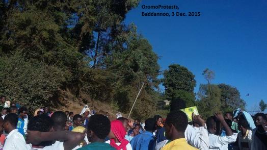 OromoProtests @ Baddannoo, East Hararghe, Oromia, 3 Dec. 2015
