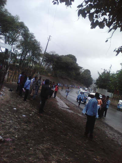 #OromoProtests in Ciroo, Hararghe, on 25th December 2015