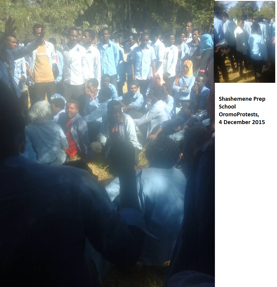 Shashemene Prep School OromoProtests, 4 December 2015.png