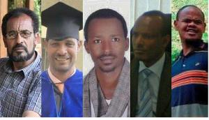 Bekele Gerba, Dejene Tafa, Desta Dinka, Addisu Bulala, Oromo political prisoners in hunger strike January 25, 2016