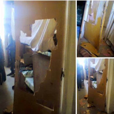 Fascist TPLF (Ethiopia)foreces destryed university residence in Madda Walaabuu University, Oromia. #OromoProtrsts 10 & 9 January 2016