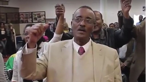 Long-time activist for Oromo rights and a founding member of the Macha-Tulama Association Ob. Bekele Mekonnen Wessenu