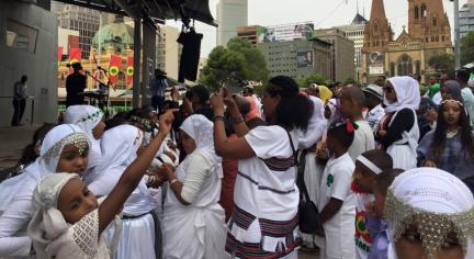 Oromia at Federation Square, Melbourne, Australia, January 3, 2016 p3
