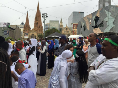 Oromia at Federation Square, Melbourne, Australia, January 3, 2016 p4