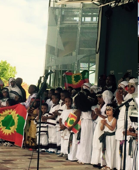 Oromia at Federation Square, Melbourne, Australia, January 3, 2016 p6