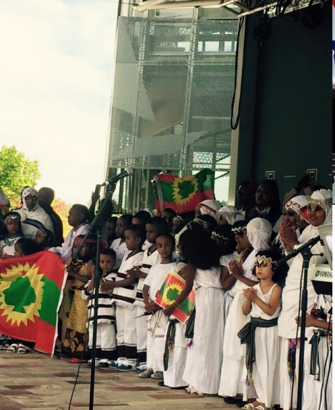 Oromia at Federation Square, Melbourne, Australia, January 3, 2016 p6