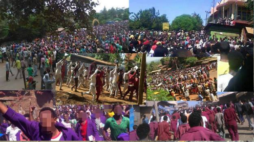 #OromoProtests against Tyranny all over Oromia against Ethiopian regime tyranny, 2015, 2016