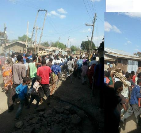 #OromoProtests, Asabot ( West Hararage) Jan 7, 2016.