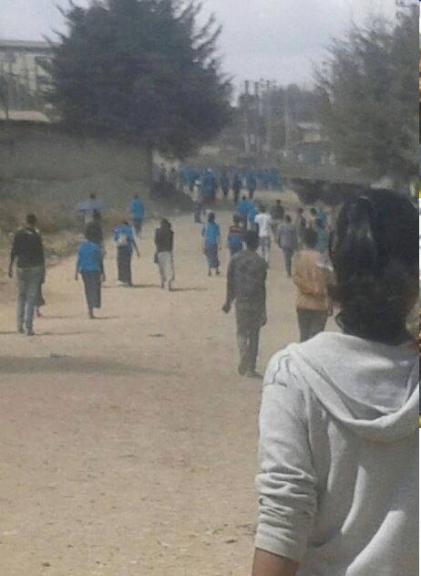 #OromoProtests, Buraayyuu, 31 December 2015
