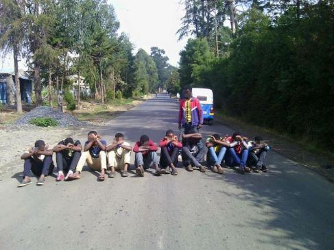 #OromoProtests @Holota, Oromia, 29 January 2016