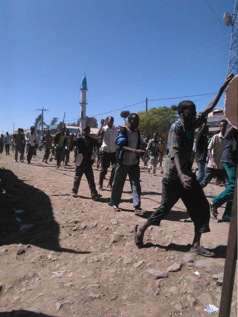 #OromoProtests, Masaala town, West Hararghe, Oromia. 5 January 2015. p1