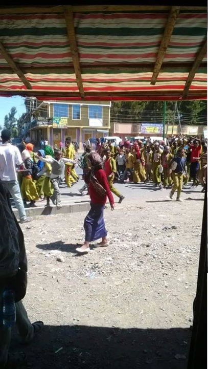 #OromoProtests, Robe, Bale, 6 January 2016
