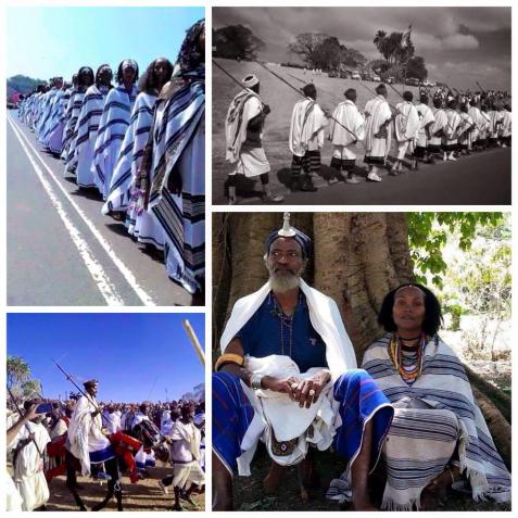 Gadaa (Oromo Democratic System) power transfer in Gujii (Southern Oromia), Feb 2016