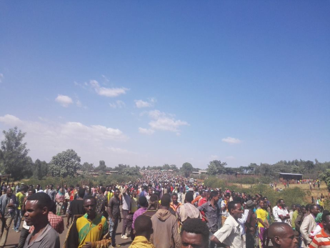 #OromoProtests @ Bule Hora, Southern Oromia, 4 February 2016