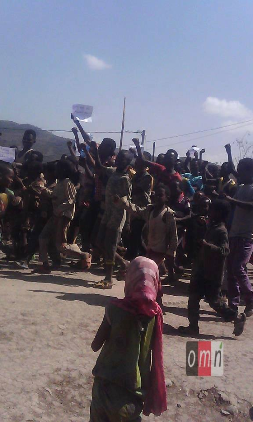 #OromoProtests continues in Chorora town, Anchar district , West Hararge, Oromia, 10 February 2016.