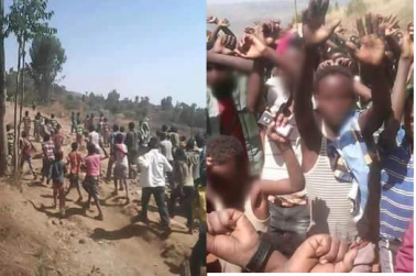 #OromoProtests continues in Karra, Chiracha town, Gurawa district, East Hararge Feb 7, 2016