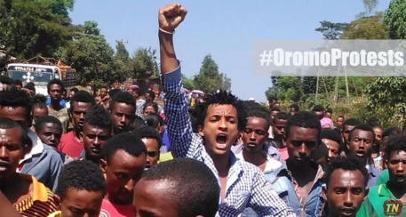 #OromoProtests iconic picture