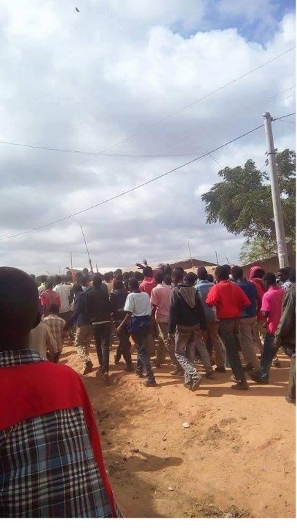 OromoProtests in Arero, Borana, Southern Oromia, 25 February 2016