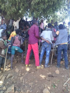 #OromoProtests in Xaxessa village, Gurawa district, East Hararge Feb 20, 2016