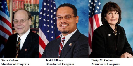 Three members of the US Congress urge Secretary of State, John Kerry, to take action against Ethiopian regime. p1