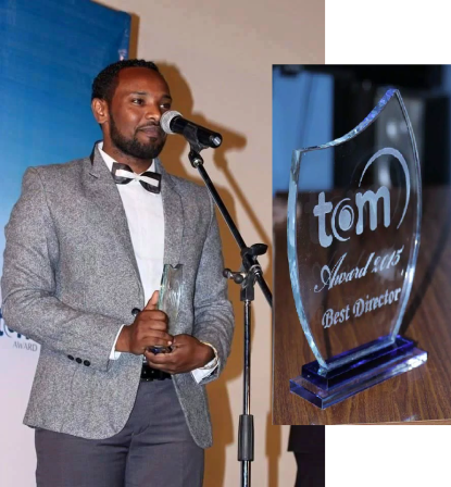 Amensisa Ifa wins 'Best Director' at the first Tom Film Awards