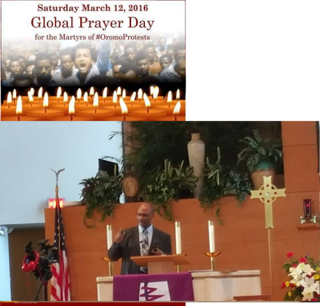 Minnesota, Globaly Prayers Day for the Martyrs of #OromoProtests, 12 March 2016 p2