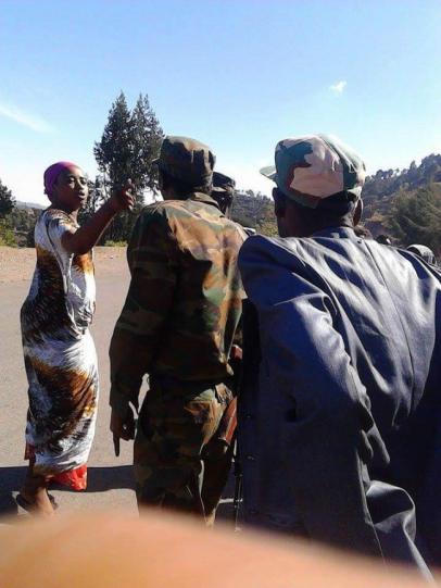 Oromo Woman confronts Agazi in Calanqoo