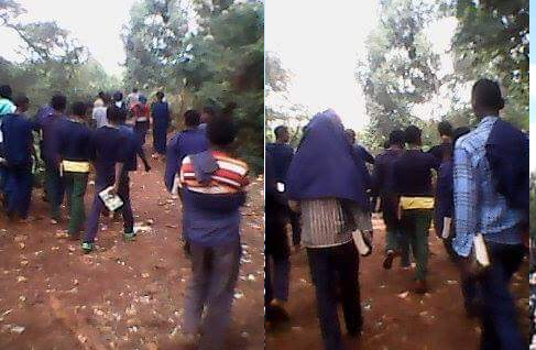 #OromoProtests 18 March 2016 in Iluu.