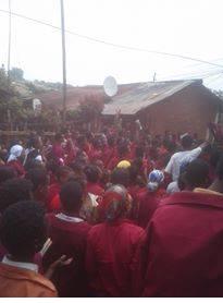 #OromoProtests, Alge High School, Iluu  Abbaa Booraa, 22nd March 2016