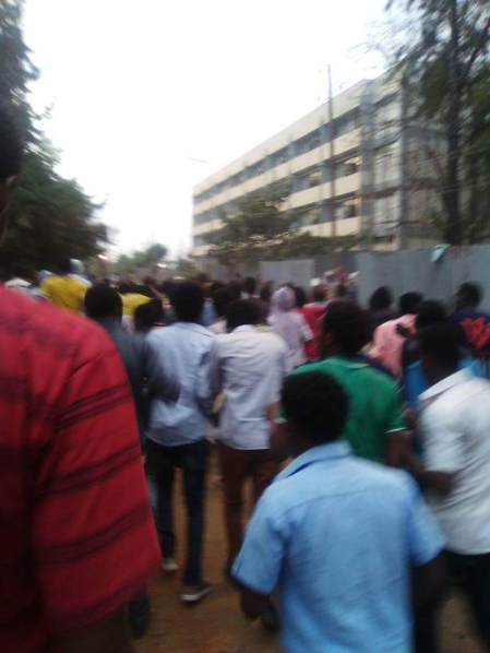 #OromoProtests at Jimma University March 3, 2016