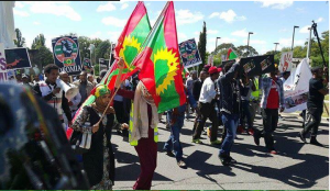 #OromoProtests, Australia, Oromo solidarity rally, 17 March 2016