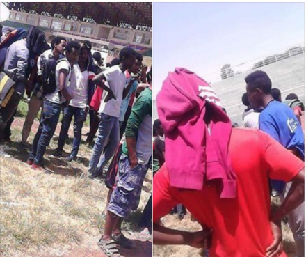 #OromoProtests continues in Adama University, Oromia, March 2016.