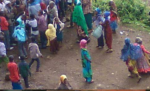 #OromoProtests continues in Malkaa Balloo, Harawaacaa town, Hararghe, Oromia, March 2016.